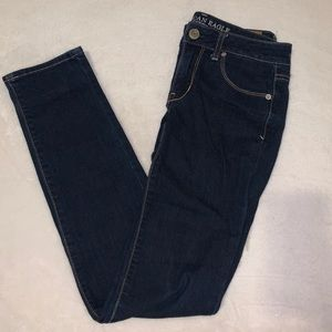 AEO skinny super stretch jeans